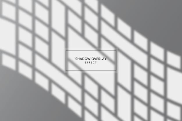 Window shadow overlay effect