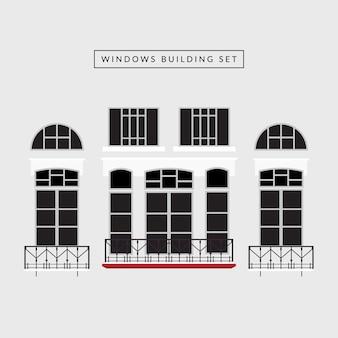 Windows building set