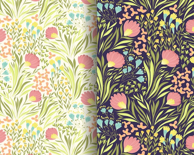 Windy florals шаблон дизайна