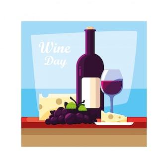 ワイングラス、ワインの日
