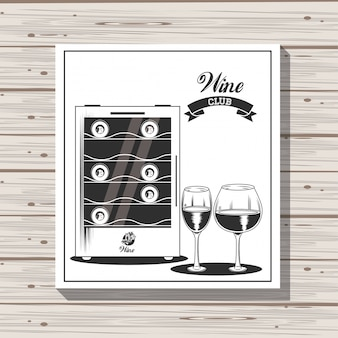 Wine club emblem
