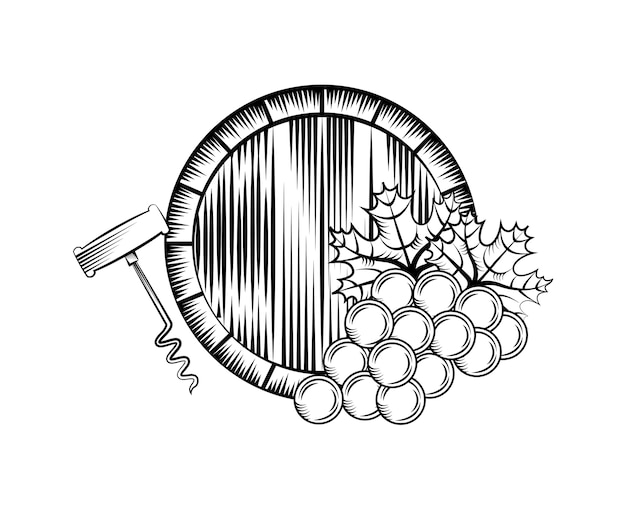 Wine house related icons