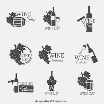 Винные логотипы