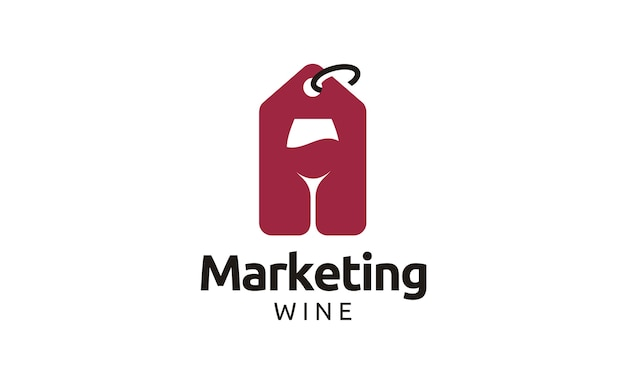 Wine shop logo design