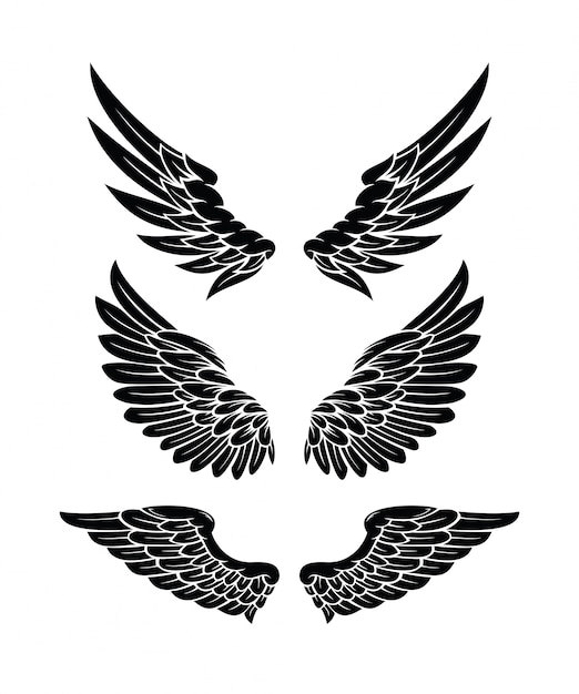 wings vectors photos and psd files free download rh freepik com free vector angel wings free vector wings download