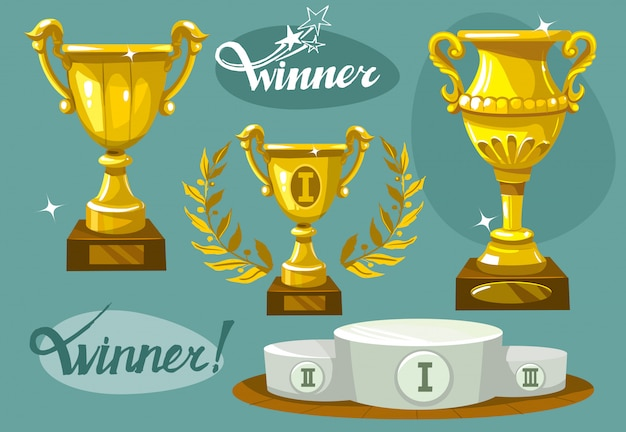 Winner cup set