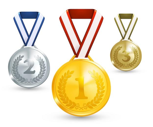 Иллюстрация медалей победителя