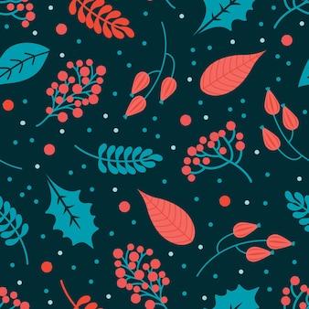 겨울 추상 완벽 한 패턴입니다. 기쁜 성 탄과 새 해 복 많이 받으세요 배경입니다.