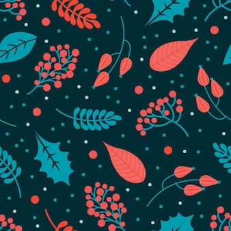 Winter abstract seamless pattern. merry christmas and happy new year background.