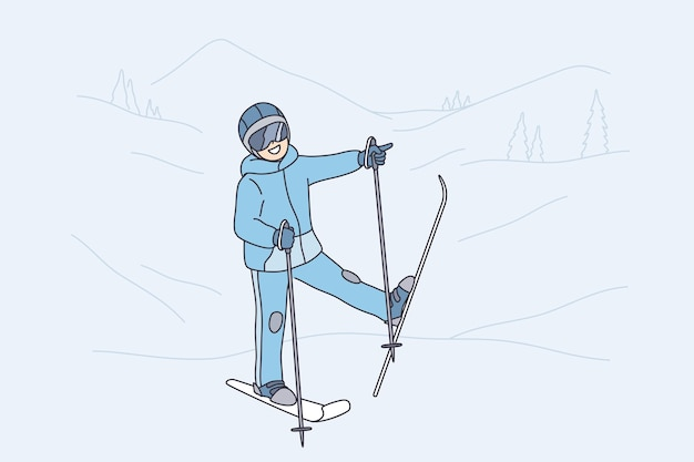 Зимние мероприятия и концепция досуга