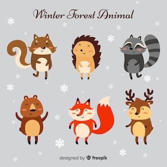 겨울 동물 모음