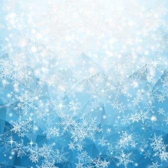 冬の背景デザイン