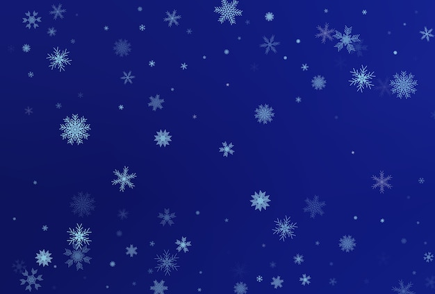雪が降る冬の背景