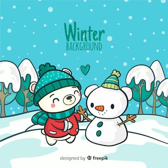 Winter background