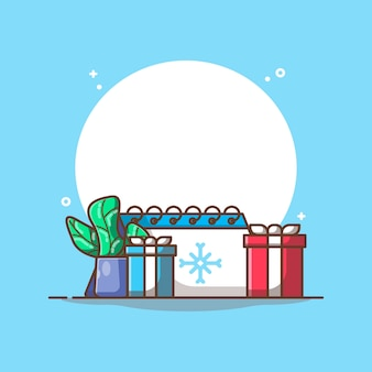 Hotchpotchの本と植物の冬のカレンダー