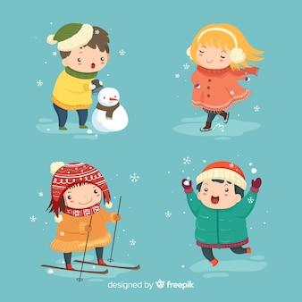 겨울 어린이 컬렉션