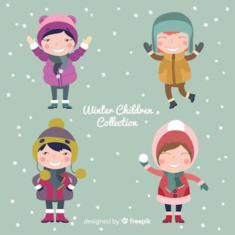 冬の子供たちのコレクション