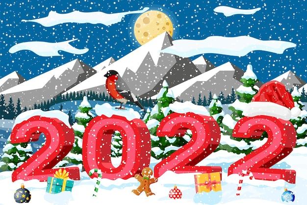 겨울 크리스마스 배경입니다.