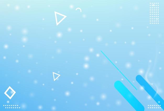 겨울 크리스마스 눈송이 배경. 떨어지는 눈송이 벡터