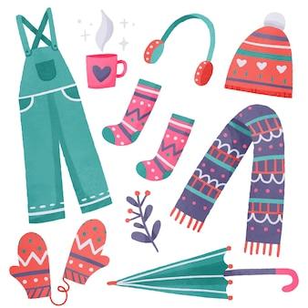 冬服と必需品のコレクション