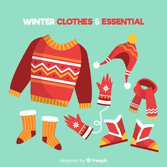 Winter clothes & essentials