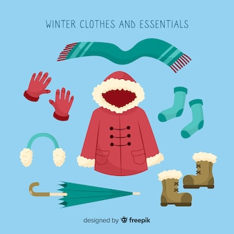 Зимняя одежда и предметы первой необходимости