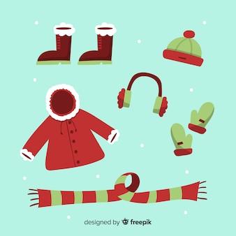 겨울 옷과 필수품