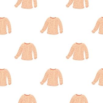 Зимняя одежда бесшовные модели