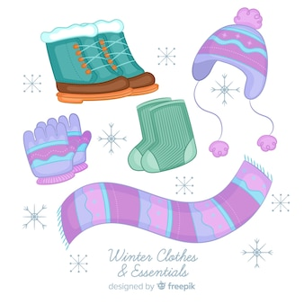Winter clothing accessories