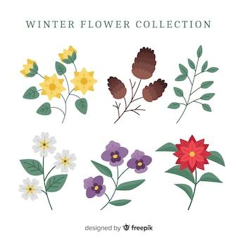 겨울 꽃 모음