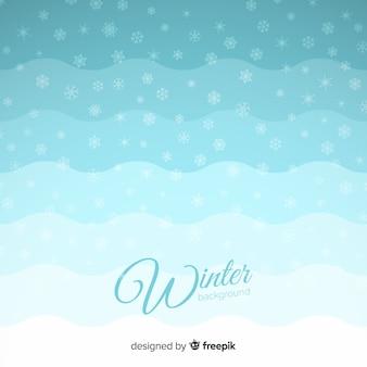 Winter gradient background