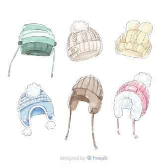 Зимняя шапка коллекция