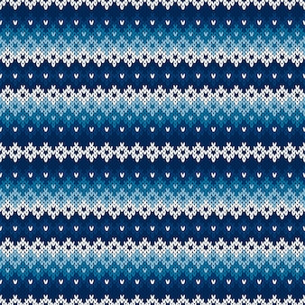 Winter holiday knitted background