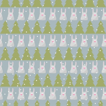 Winter holidays seamless pattern background with colorful baby socks for gifts from santa claus