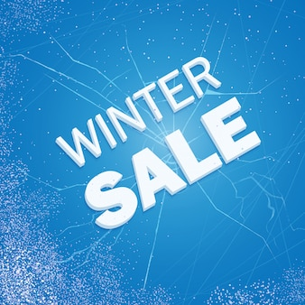 Winter ice sale
