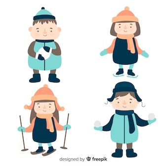 Winter kids pack