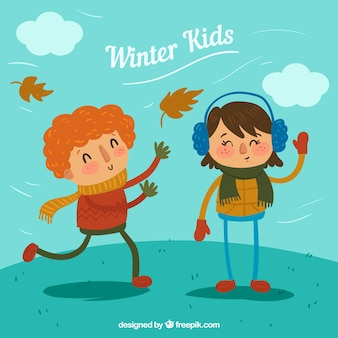 Winter kids