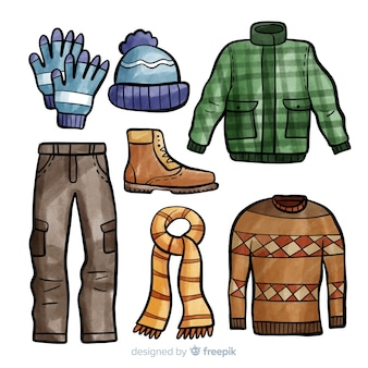 Winter outfit collection