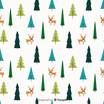 Winter pattern background