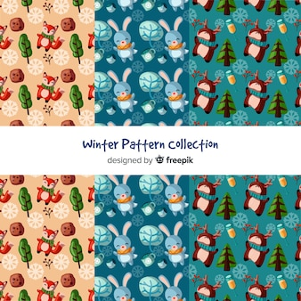 Winter pattern collection