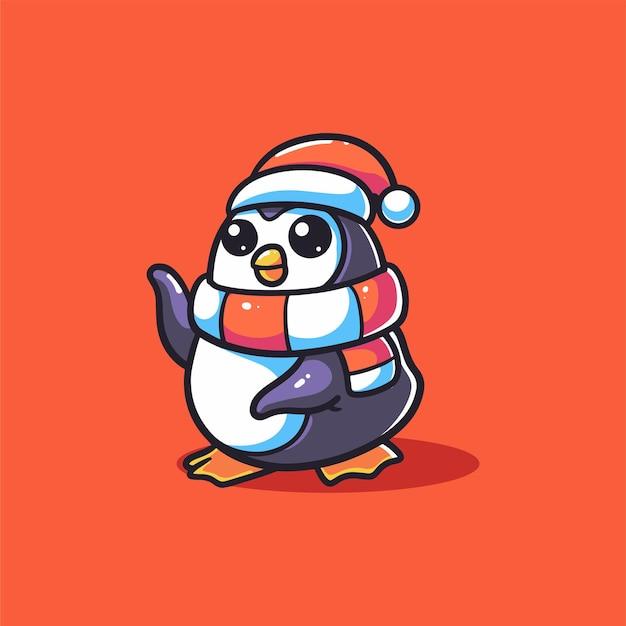 冬のペンギン