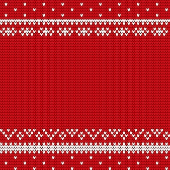 Winter red cover with christmas decoration