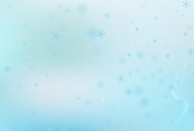 冬の雪の背景