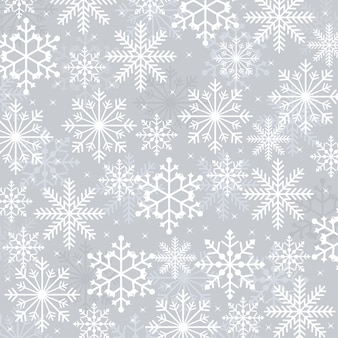 Winter snow snowflake illustration texture card background