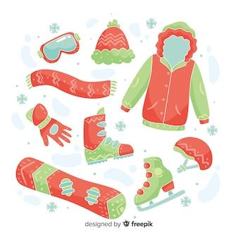 Elementi essenziali per gli sport invernali