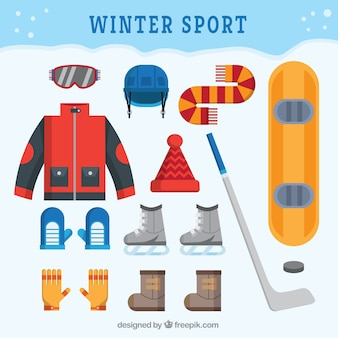 Winter sports clothing and accessories