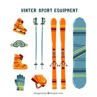 Зимний спортивный инвентарь и аксессуары