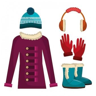 Abbigliamento invernale, abiti e accessori