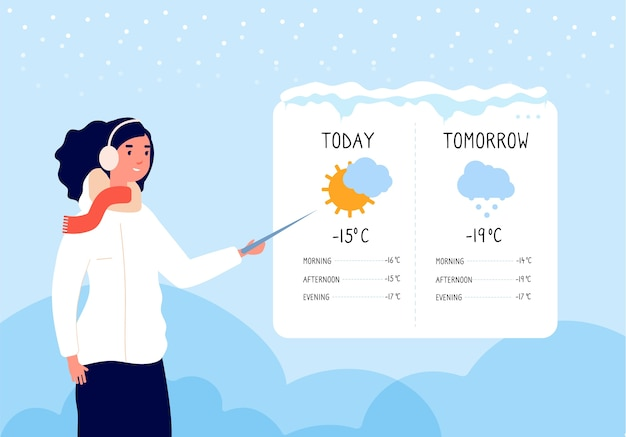 冬の天気予報