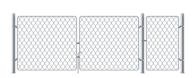 ワイヤードフェンスまたはチェーンリンクフェンシングチェーンリンク金属構造のコンサートスチールバリア用